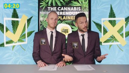 Jono and Ben explain the upcoming Cannabis Referendum in 4 minutes and 20 seconds