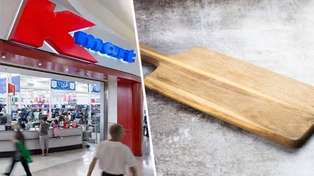 Kmart shoppers confused after discovering hilarious mistake on chopping board