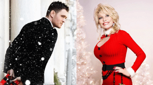 Dolly Parton and Michael Bublé duet together on brand new Christmas song