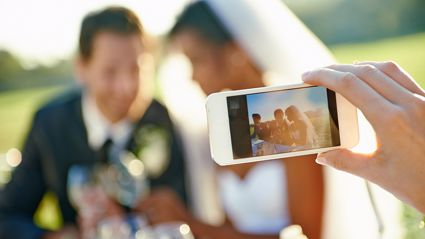 Wedding photographer hits out at guest for ruining 'perfect shot' with iPhone