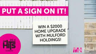WIN A $2000 HOME UPGRADE!