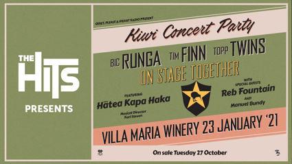 The Hits Presents: Kiwi Concert Party At Villa Maria Winery