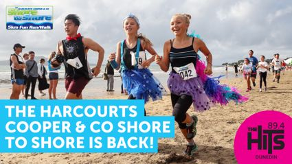 WIN a double pass for The Harcourts Cooper & Co Shore to Shore and a prize from the Prize Pool