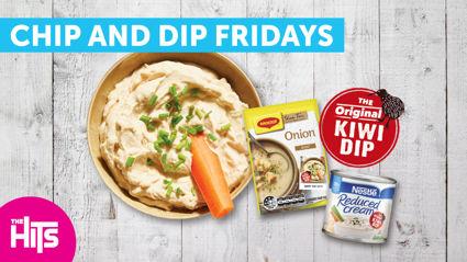 Chip and Dip Fridays thanks to Original Kiwi Dip