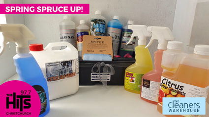 Spring Spruce Up with The Cleaners Warehouse