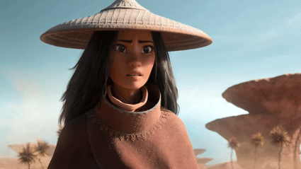Disney unveils first look at epic new animated movie 'Raya and the Last Dragon'