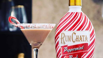 It turns out boozy Peppermint Bark exists and it sounds like a Christmas dream