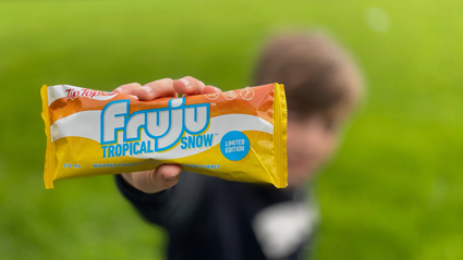 Remember Fruju Tropical Snow ice blocks? Well they've made a comeback in NZ stores