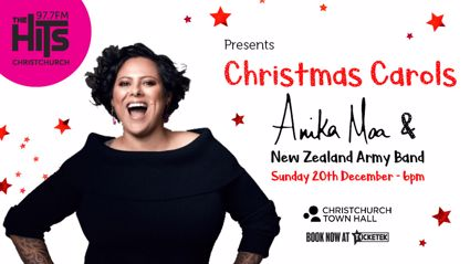 Win Tickets to See Anika Moa & Friends this Christmas