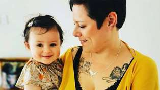 Anika Moa thinks her daughter will be better at potty training than her sons
