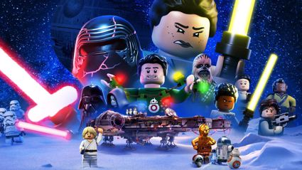 Kiwis can watch the 'LEGO Star Wars Holiday Special' on Disney+ from today
