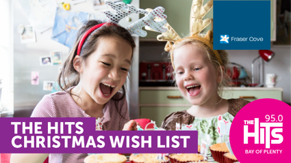The Hits Christmas Wishlist with Fraser Cove