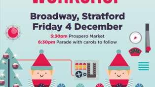 Santa's coming to Stratford!