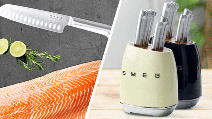 PSA: New World is giving away these stunning SMEG knife sets just in time for Christmas