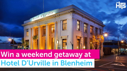 Win a weekend getaway at Hotel D'Urville in Blenheim