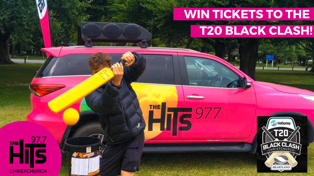 Win Tickets to the T20 Black Clash!