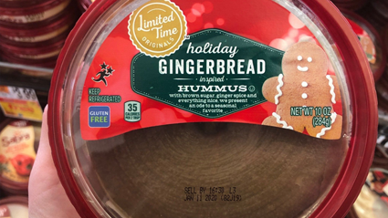 Gingerbread hummus is apparently the latest Christmas trend and we're not sure how to feel