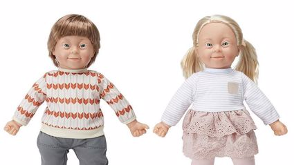 Kmart introduces 'inclusive' dolls with Down syndrome to New Zealand shelves