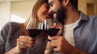 It turns out couples who drink together stay together according to a study