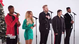 Pentatonix perform special live A Cappella Christmas performance and it's stunning