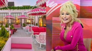 It turns out a Dolly Parton-inspired roof-top bar exists and it looks amazing