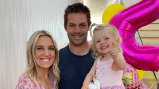 Gemma McCaw shares rare photo of adorable daughter Charlotte on 2nd birthday