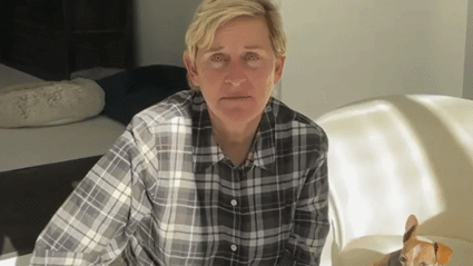 Ellen DeGeneres updates fans on her 'painful' Covid-19 symptom after testing positive for virus
