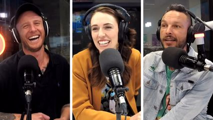 Prime Minister Jacinda Ardern takes Jono and Ben's pop quiz on 2020