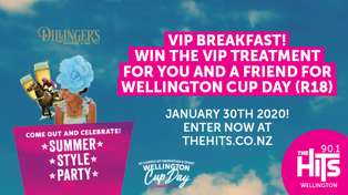 WIN your spot at The Hits Cup Day VIP Breakfast!