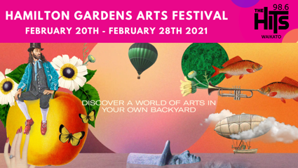 HAMILTON GARDENS ARTS FESTIVAL 2021