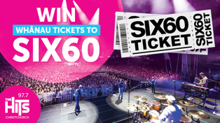 Win Your Whānau Tickets to Six60!