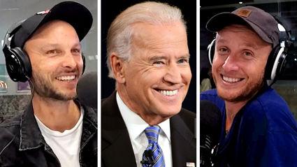 Watch Jono and Ben's EXCLUSIVE interview with new US President Joe Biden