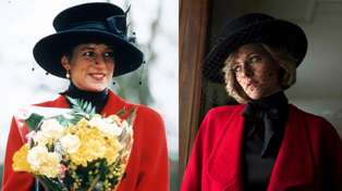 Kristen Stewart stuns royal fans looking exactly like Princess Diana in first glimpse at 'Spencer'