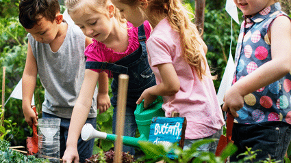 Here's how your budding green thumb could help fund their school's environmental project