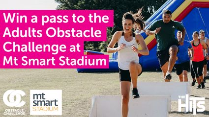 Win a double pass to The Adult Obstacle Challenge at Mt Smart Stadium