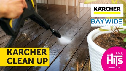 Karcher Clean Up, thanks to Baywide Equipment!
