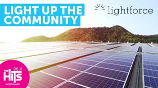Light Up The Community with Lightforce and The Hits Northland