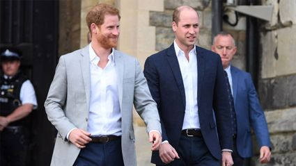 Prince William worried his private conversations with Harry will be 'plastered on US TV'