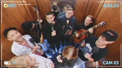 Elevator Music: Jono & Ben surprise people in lifts with the help of Drax Project!