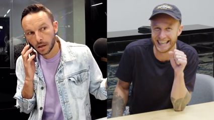 Watch Ben get pranked by Jono and the rest of The Hits breakfast team