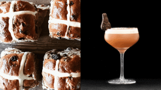 It turns out limited-edition Hot Cross Bun cocktails are here just in time for Easter