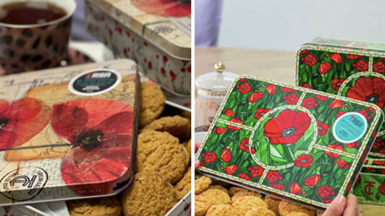Kiwi fashion designer Trelise Cooper releases limited edition ANZAC biscuit tins