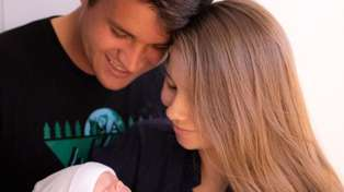 Bindi Irwin shares adorable photo of newborn baby daughter Grace sleeping