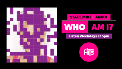 Win Cash With Stace, Mike And Anika's Who Am I?
