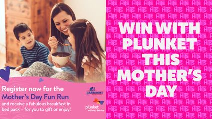 WIN THIS MOTHER'S DAY WITH PLUNKET!
