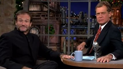 David Letterman Gives Amazing 10-Minute Tribute To Robin Williams